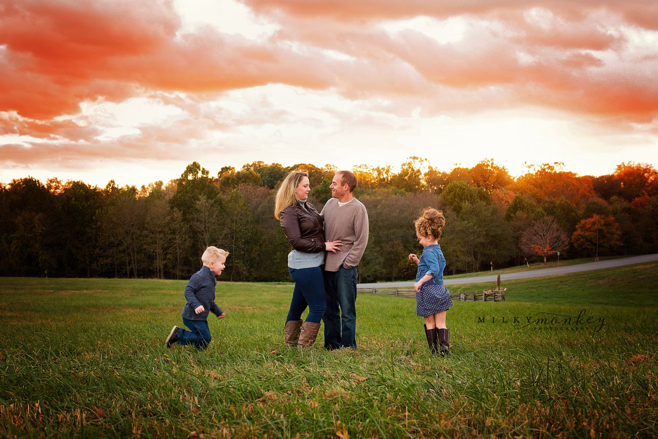 maryland-family-photographer-family-portraits-at-sunset