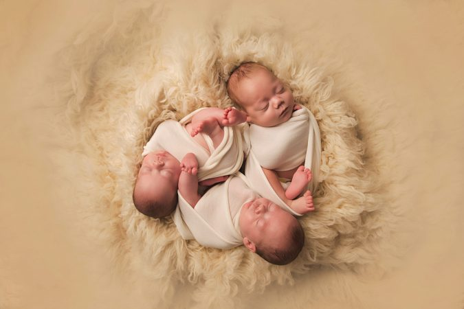 Maryland Triplet Newborns – The three little bears