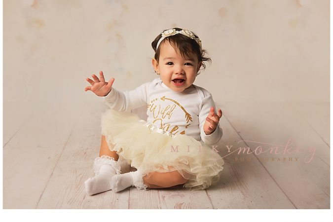 Princess Cake Smash – Silver Spring Baby Photographer – Miss G